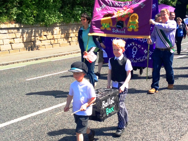 Morpeth Suffragette Rally