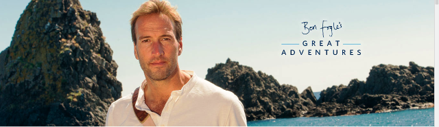 Ben Fogle 'Great Adventures' for Celebrity Cruises
