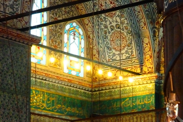 Blue Mosque - Sultan's Royal Box, Istanbul