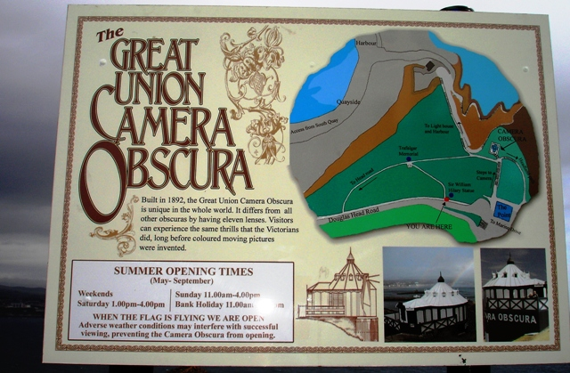 Great  Union Camera Obscura - Isle of Man photo by Zoe Dawes