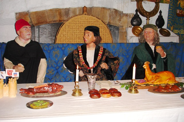 Castle Rushen medieval banquet - isle of Man photo by Zoe Dawes