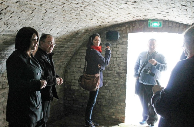 Wilfred Owen Cellar in Maison Forestiere - photo Zoe Dawes