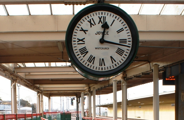 Carnforth Station Clock - by Zoe Dawes