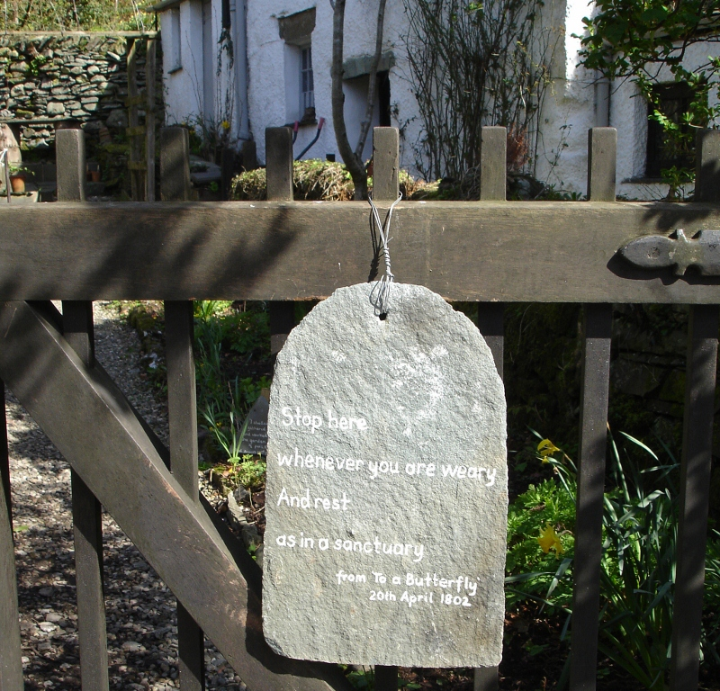Dove Cottage Sign