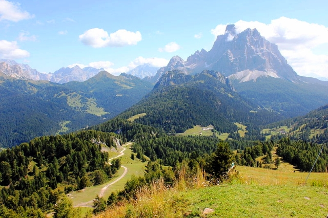 Walk World War I trails in the dolomites