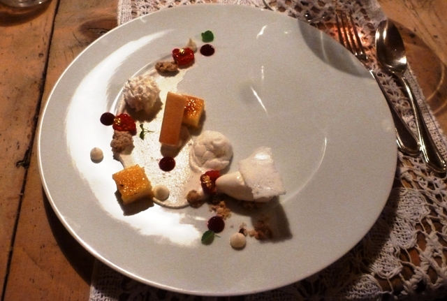 Egon Heiss Michelin desserts - Bad Schoergau South Tyrol