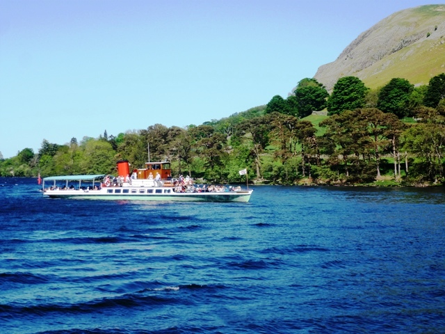 Ferry on Ullswater, Cumbria