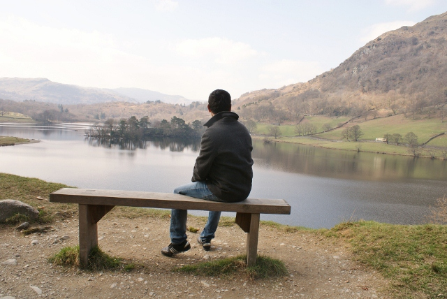 Keith at Rydal Water
