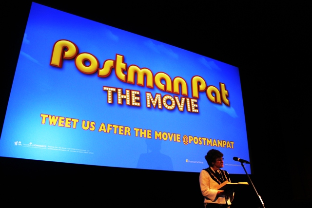 Kendal Mayor at Postman Pat movie premiere - photo Zoe Dawes