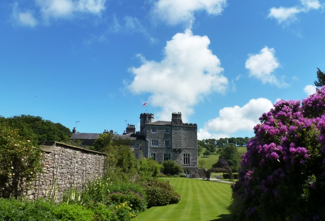 Leighton Hall and garden - by Zoe Dawes