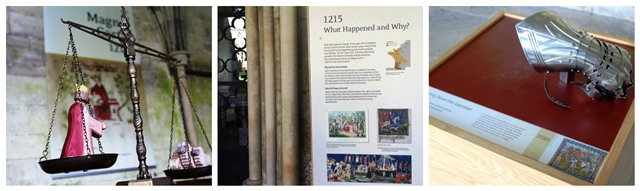 Magna Carta history exhibition Salisbury Cathedral - photo Zoe Dawes www.thequirkytraveller.com
