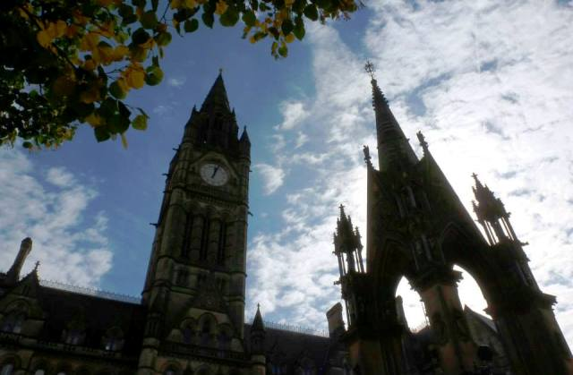 Manchester Town Hall - by Zoe Dawes