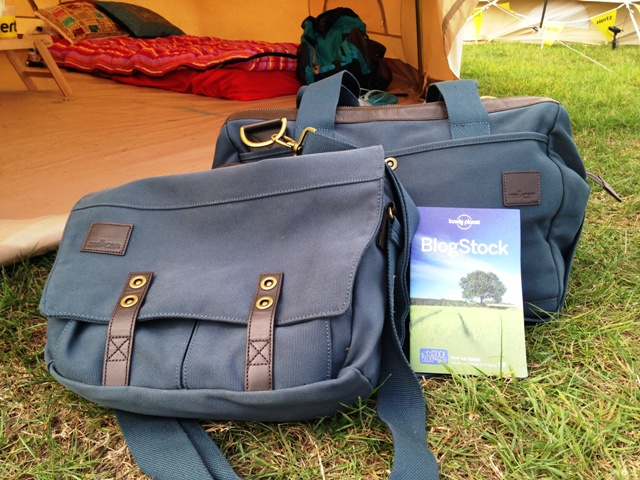 Home of Millican - Mark the Courier Bag and Harry the Gladstone bag at Blogstock