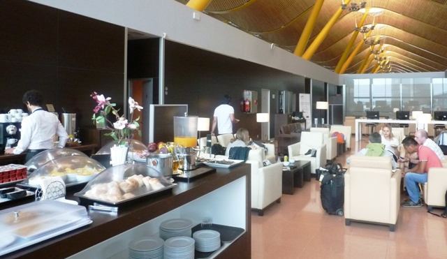 Madrid Airport VIP Lounge