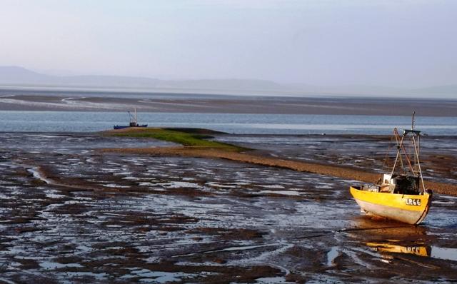 Morecambe Bay fishing boat - by Zoe Dawes