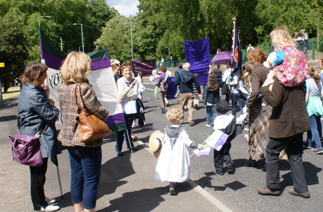 Morpeth Emily Wilding Davison Suffragette Rally
