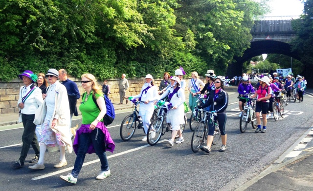 Morpeth remembers Emily Wilding Davison