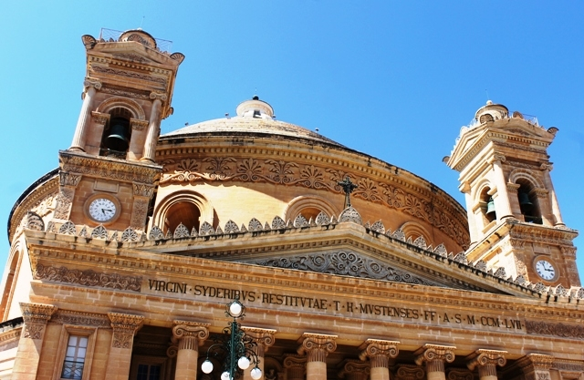 Mosta Church dome, Malta - image Zoe Dawes