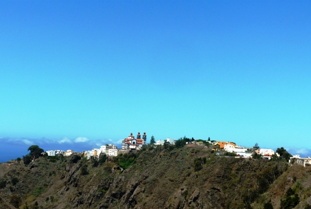 Mountain village of Moya on Gran Canaria
