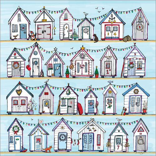 Phoenix Beach Huts Advent Calendar