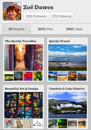 Quirky Traveller Pinterest Boards