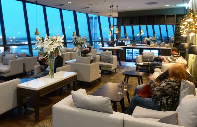Radisson Blu Hotel, Business Class lounge, Manchester Airport