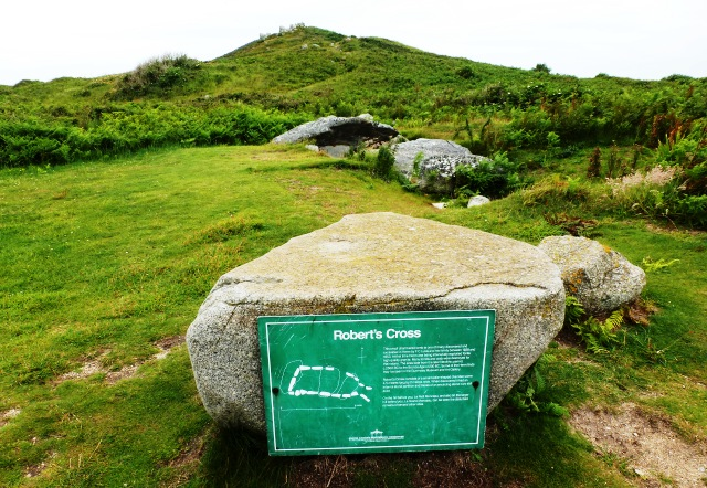 Roberts Cross Neolithic tomb, Herm