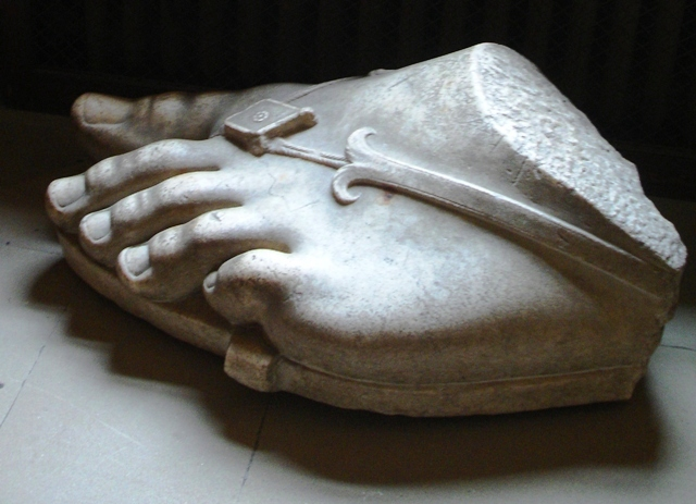 Roman Foot - Chatsworth House - by Zoe Dawes
