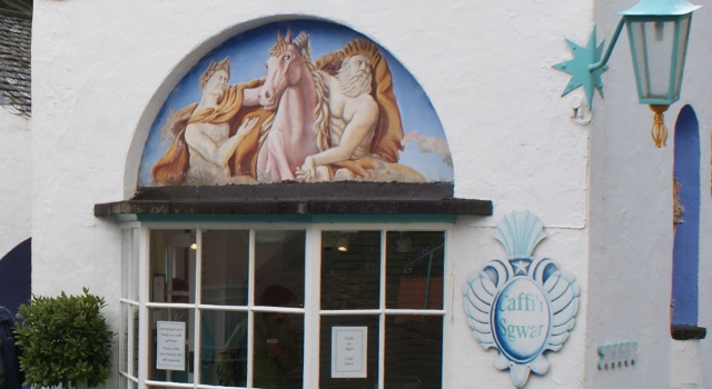 Cafe mural Portmeirion