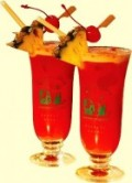 Singapore Sling at Raffles Hotel - photo meridian103.com