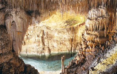 Inside the Caves of Drach