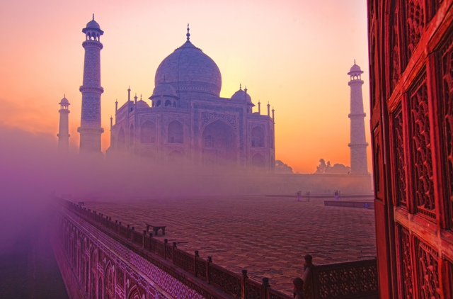 The Taj Mahal India - photo c/o indusexperiences.co.uk