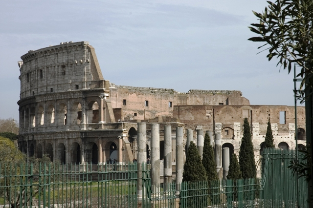 Temple of Roma, Rome, Italy