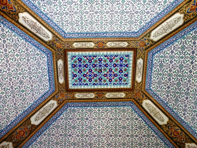 Topkapi Palace ceiling, Istanbul