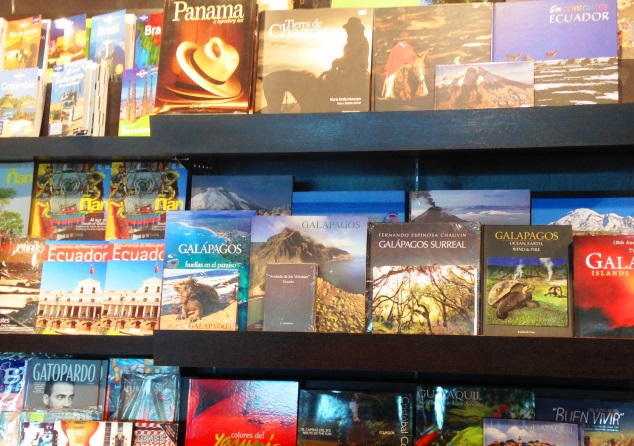 Travel books in Ecuador - Zoe Dawes