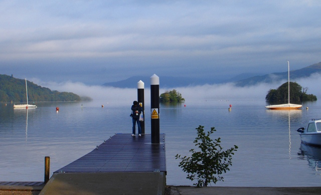Windermere from Bowness jetty Lake District - image Zoe Dawes