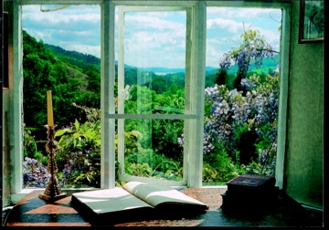 View from Wordsworth's study