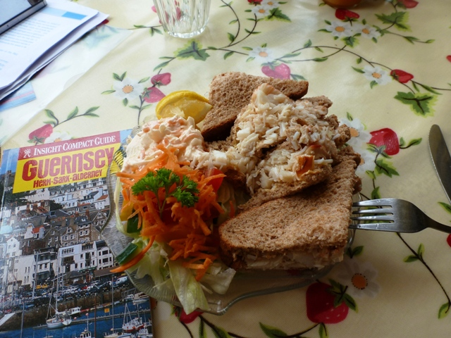 Cobo Bay Crab Sandwich