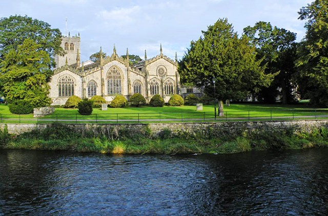 Holy Trinity Kendal - one of the largest parish churches in England - image Visit Cumbria