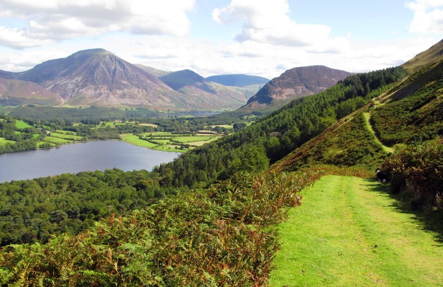 Loweswater in the Lake District, Cumbria