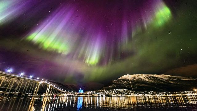 Northern Lights Tromso Norway Ole.CSalomonsen arctic light photo