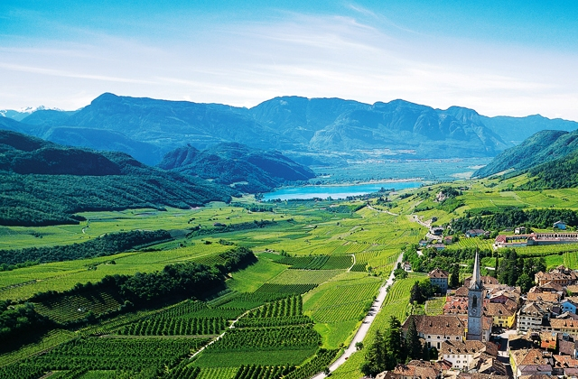 Bolzano region of South Tyrol